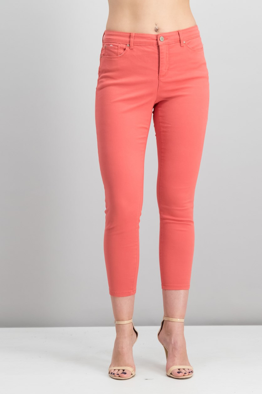 Petite Bristol Skinny Ankle Jeans, Jucy Guava