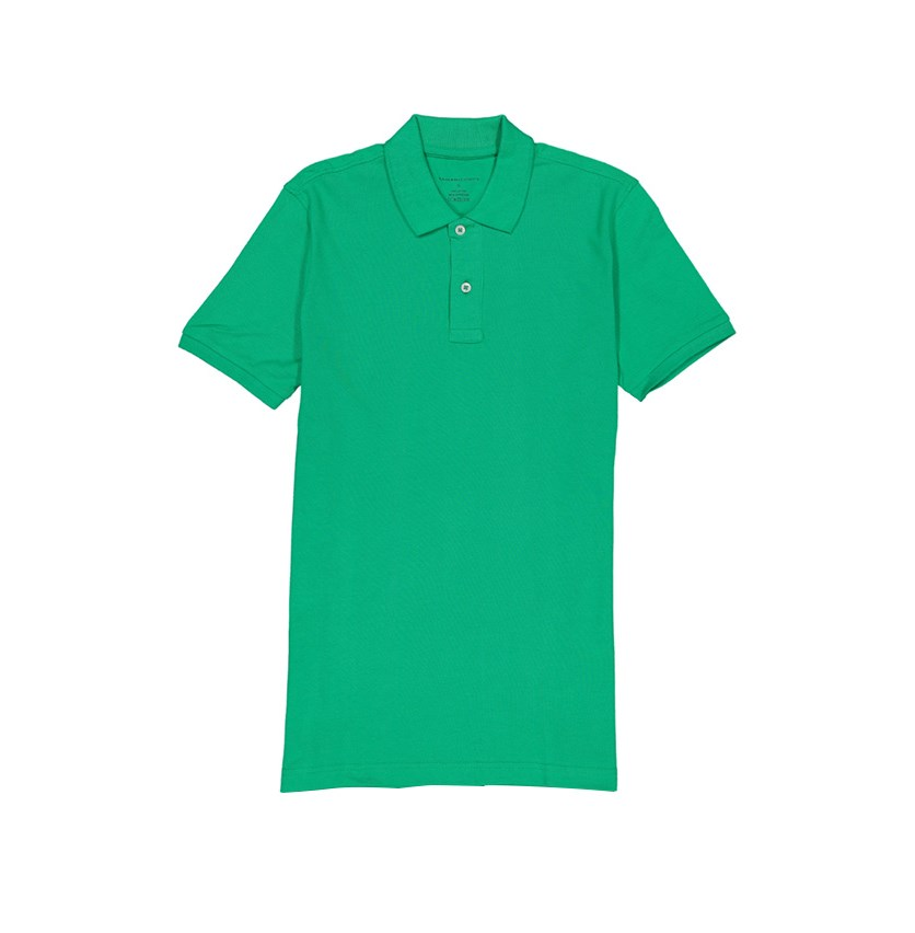 Men's Short Sleeve Polo Shirt, Green