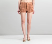 Free People Great Expectations Lacey Cotton Short, Peach