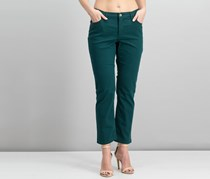 Lee Platinum Label Petite Gwen Straight-Leg Jeans, Green
