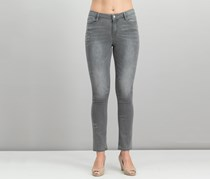 Juniors' Kate Distressed Straight-Leg Jeans, Fairbanks
