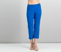 Alfred Dunner Petite Pull-On Straight-Leg Pants, Royal Blue