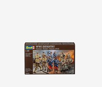 Revell WWI Infantry German/British/French 1914, Brown