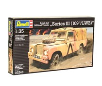 Revell British 4x4 Off-Road Vehicle, Brown