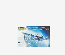 Revell Germany SpaceShipTwo and Carrier White Knight Two Model Kit, White/Blue