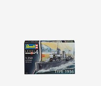 Revell German Destroyer Type 1963 Model KIt, Grey