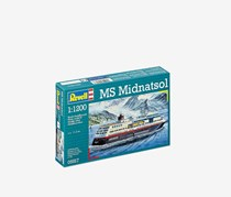 Revell MS Midnatsol 1:1200 Scale, Teal