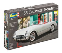 Revell 53 Corvette Roadcoaster, White