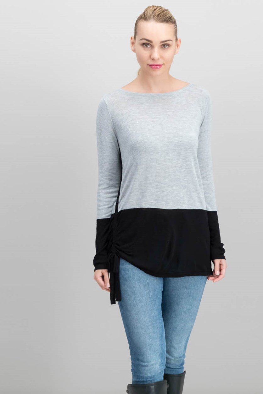 Inc International Concepts Colorblocked Sweater, Black/Grey