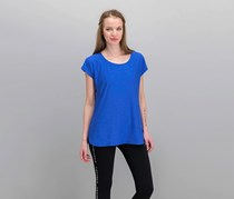 Tuff Athletics Women's Active Tee, Bright Blue