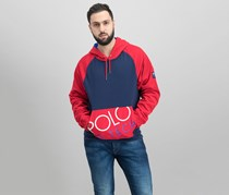 Polo Ralph Lauren Men's Hi Tech Hybrid Hoodie, Navy/Red