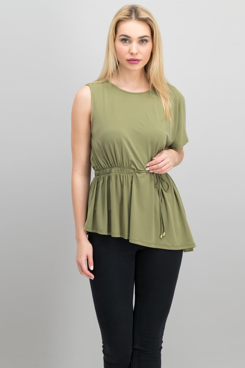 Asymmetrical Top, Military Green