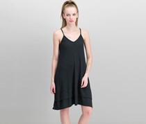 Rachel Roy Women's Ribbed-Knit Tank Dress, Black