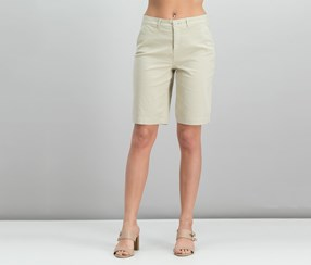 NYDJ Mid-Rise Bermuda Shorts, Feather