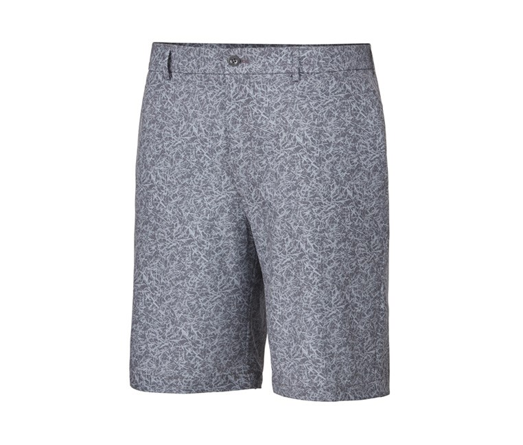 Mens Turf Printed Shorts, Before Dark/Grey