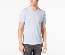 International Concepts Mens Heathered T-Shirt, Lavendar Ice