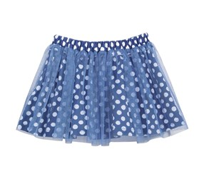 First Impressions Baby Girls Print Tutu Skirt, Medieval Blue