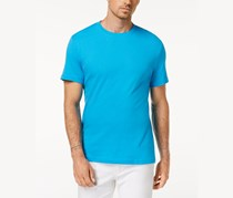 Club Room Men's Performance T-Shirt, Turkish Blue