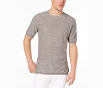 Tasso Elba Island Men's Knit T-Shirt, Brown Combo
