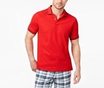 Club Room Men's Performance Polo Shirt, Red/Navy