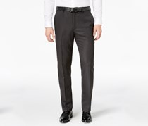 Mens Stretch Dress Pants, Deep Black Combo
