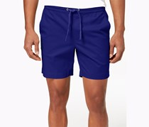 Club Room Mens Stretch Drawstring Short, Navy blue