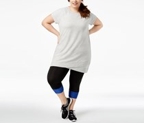 Ideology Plus Size Tunic, Whisper Heather