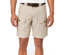 Tasso Elba Men's Matteo Utility Shorts, Safari Tan Combo