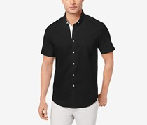 Inc International Concepts Men's Stretch Pocket Shirt, Black