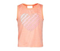 Ideology Heart-Print Tank, Juicy Melon