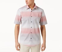 Alfani Men's Nick Ombre Shirt, Baked Apple