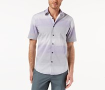Alfani Men's Nick Ombre Shirt, Lush Lilac