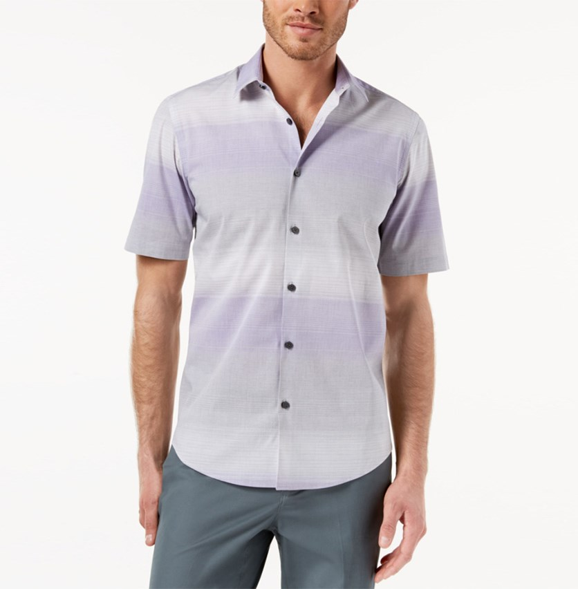 Men's Nick Ombre Shirt, Lush Lilac