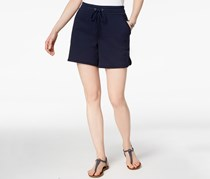 Style Co Pull-On Shorts, Industrial Blue