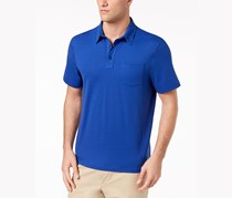 Club Room Men's Pocket Polo Shirt, New Cerulean