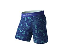 Pair Of Thieves Men's Civvies Boxer Briefs, Blue