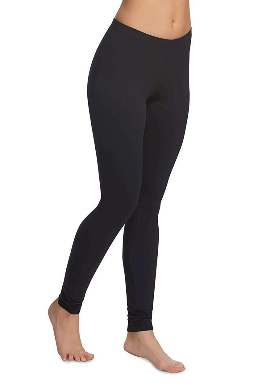 Velvety Soft Lightweight Legging 2 Pack, Black