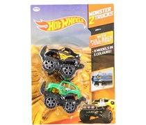 Hot Wheels 2 Monster Truck, Black/Green