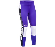 Under Armour UA Colorblocked Cropped Leggings, Constellation Purple