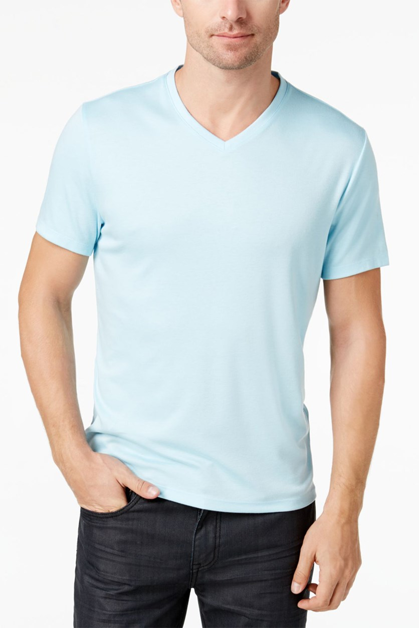 Men's Travel Stretch T-Shirt, Bathwater