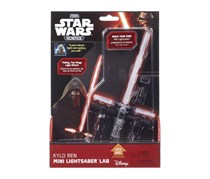 Star Wars Uncle Milton Science Mini Lightsaber Tech Lab, Black Combo