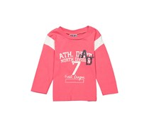 Litttle Boys Longsleeve Graphic Tee, Pink Combo