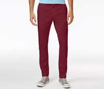 American Rag Men's Stretch Chino Pants, Garnet Stone