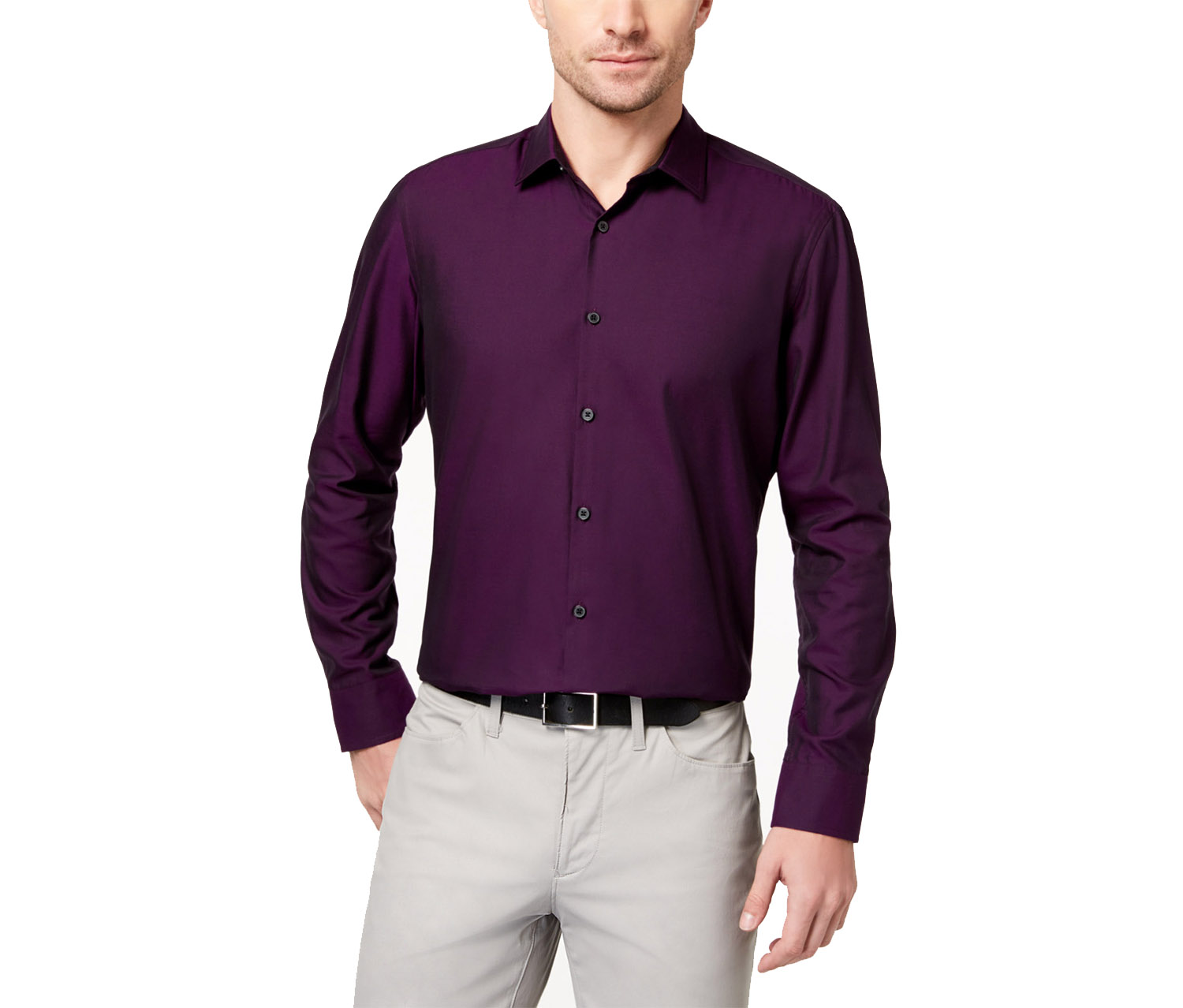 Men's Vernon Two-Tone Shirt, Port