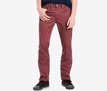 Levis 511 Slim-Fit Commuter Jeans, Red Mahogany