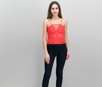 Guess Graham Lace Camisole, Red Lava