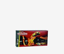 Majorette Stunt Heroes Fire Flight + Crash Car, Red Combo