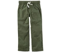 Carter's Boy's Drawstring Pants, Olive
