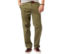 Dockers Men's Big & Tall Classic-Fit Stretch Pants, Washed Khaki