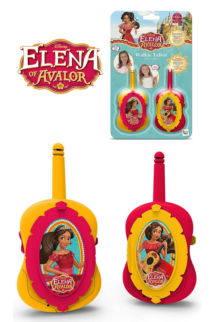 Imc Elena Walkie Talkie Disney Avalor, Red/Yellow